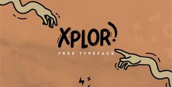 XPLOR Free Font - sans-serif