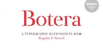 Botera font