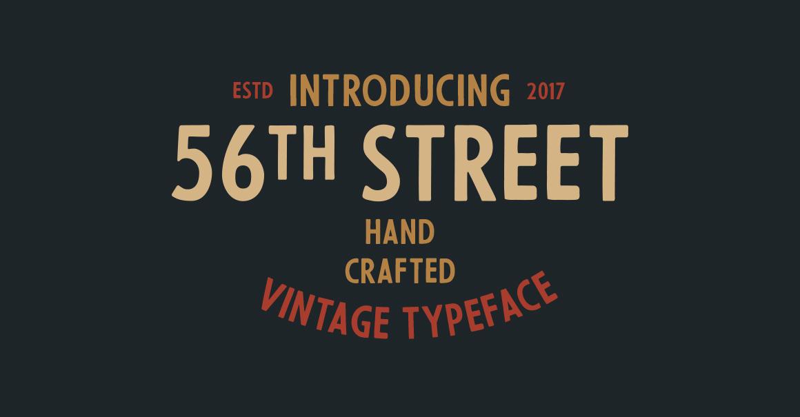56th Street Free Font