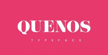 Quenos Typeface - Free