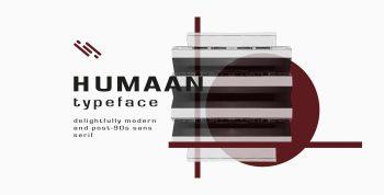 Humaan Typeface Free Font