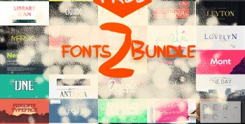 +65 Free Fonts Bundle -