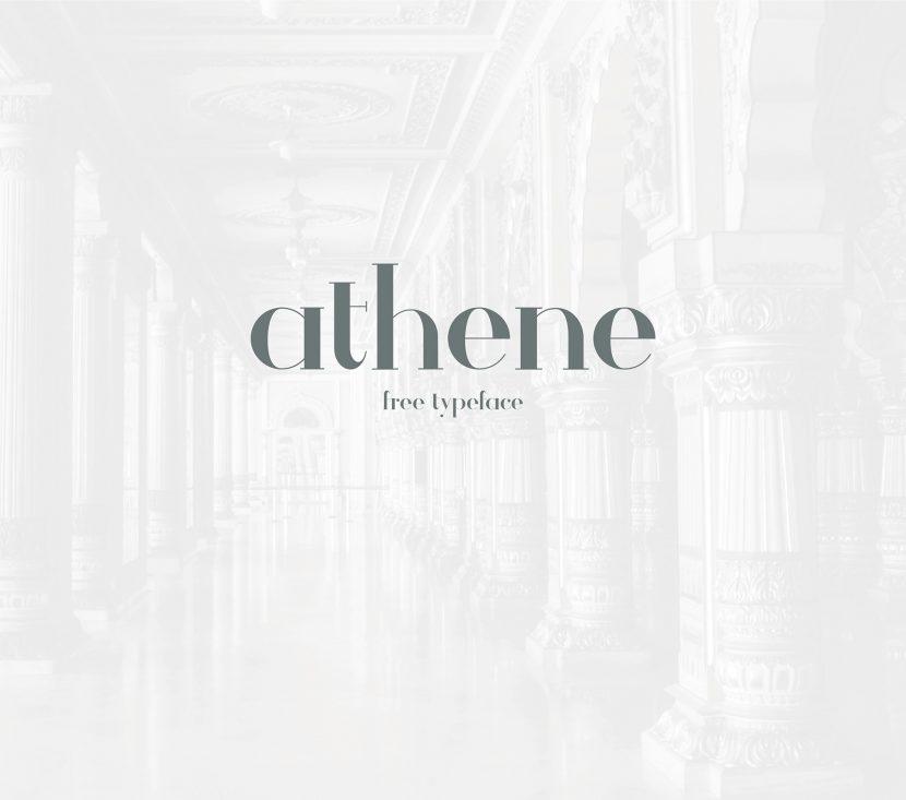Athene Free Font