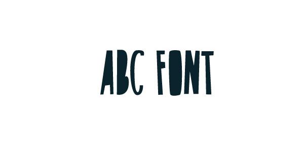ABC Free Font - script