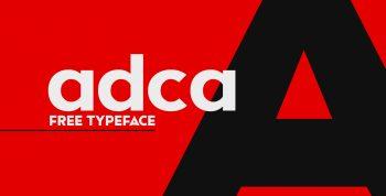 Adca Free font - sans-serif