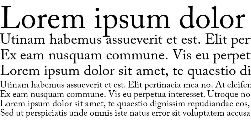 Adobe Caslon Pro Free Font - serif