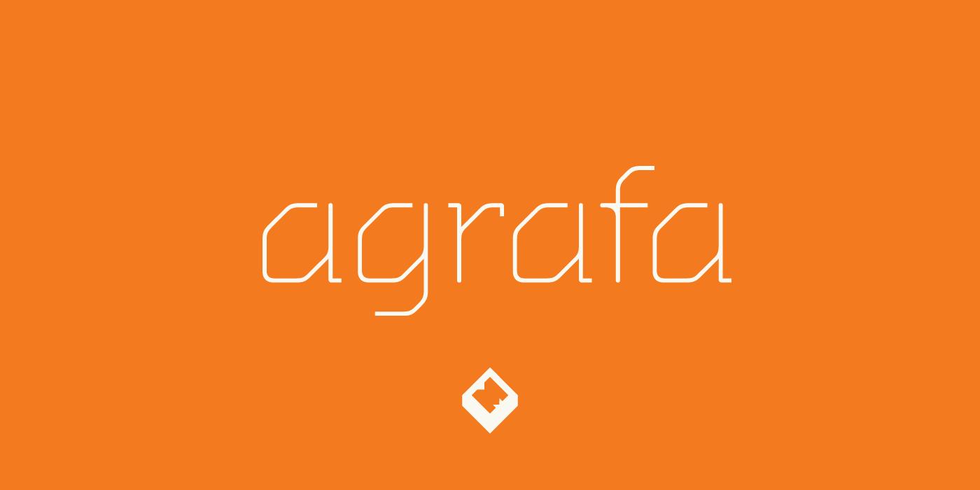 Agrafa Free Font