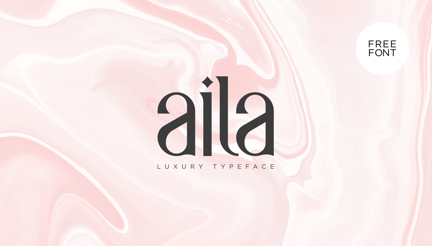 Aila Free Typeface