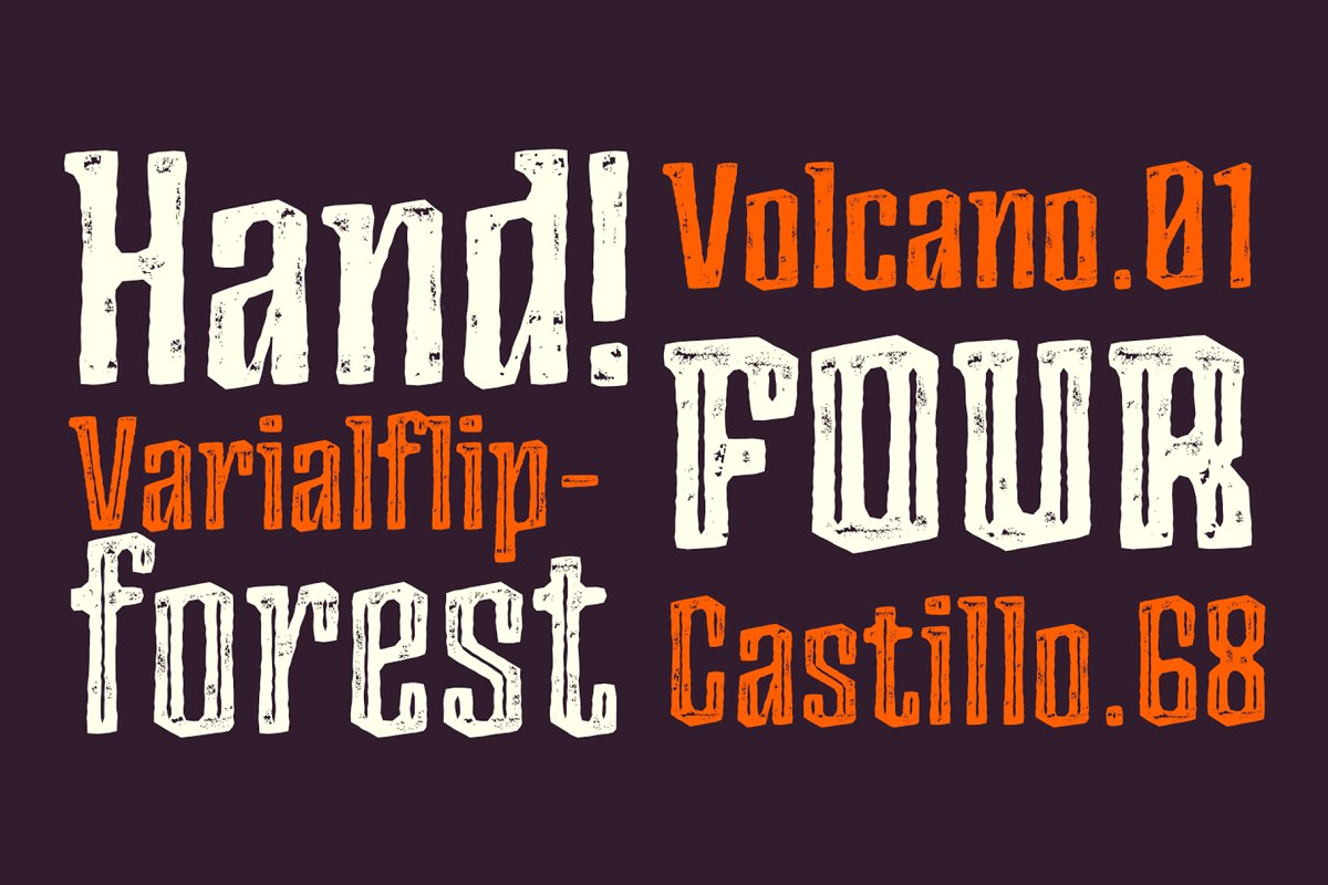 Ancoa Free Font - decorative-display