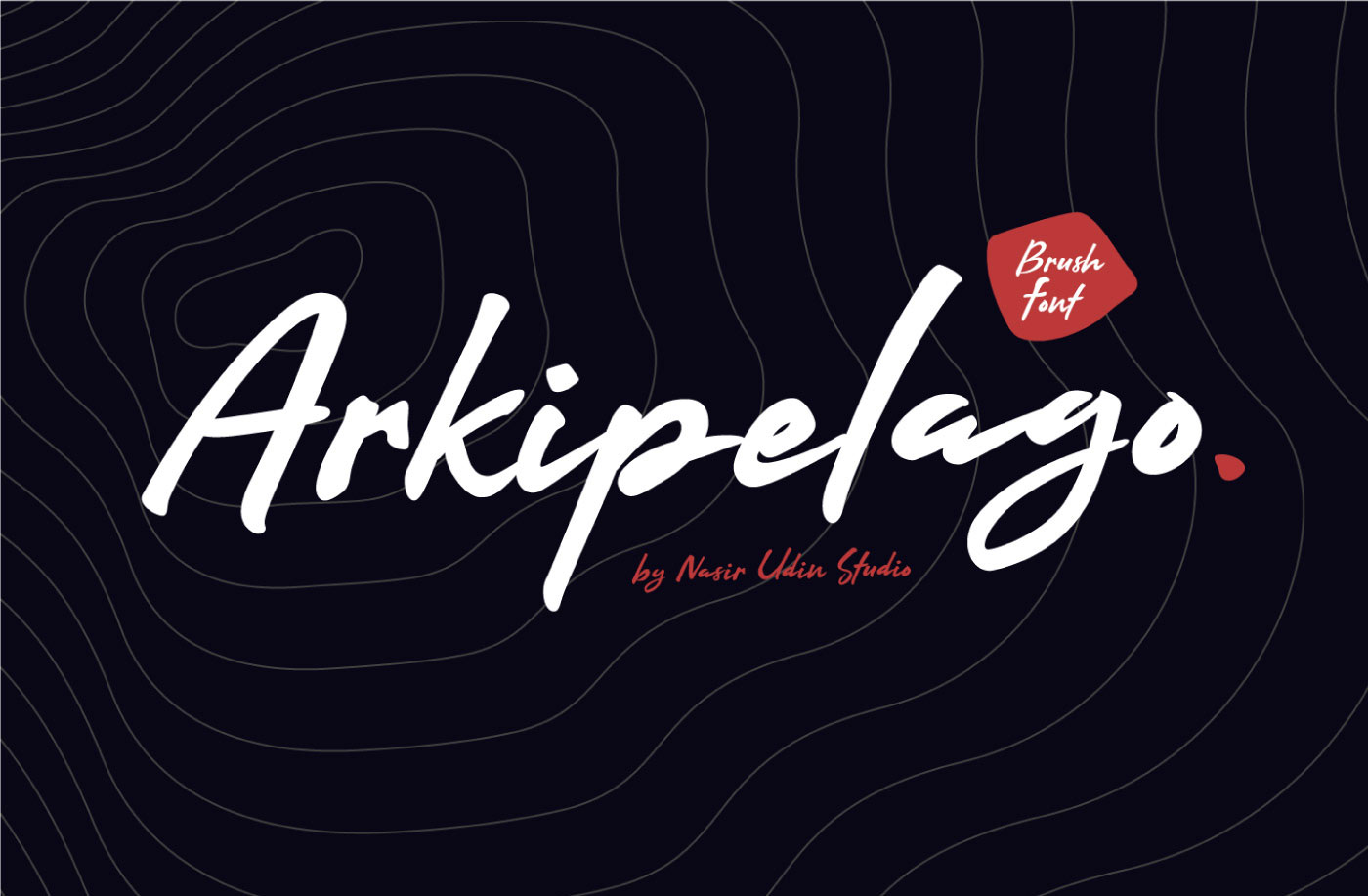 ARKIPELAGO Free Font - script