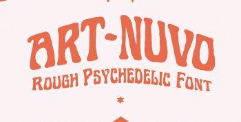Art-nuvo Free Font - decorative