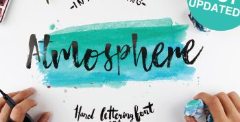 Atmosphere Free Font - script