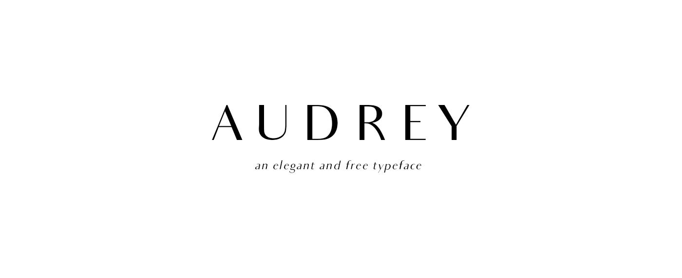 Audrey Free Font - sans-serif