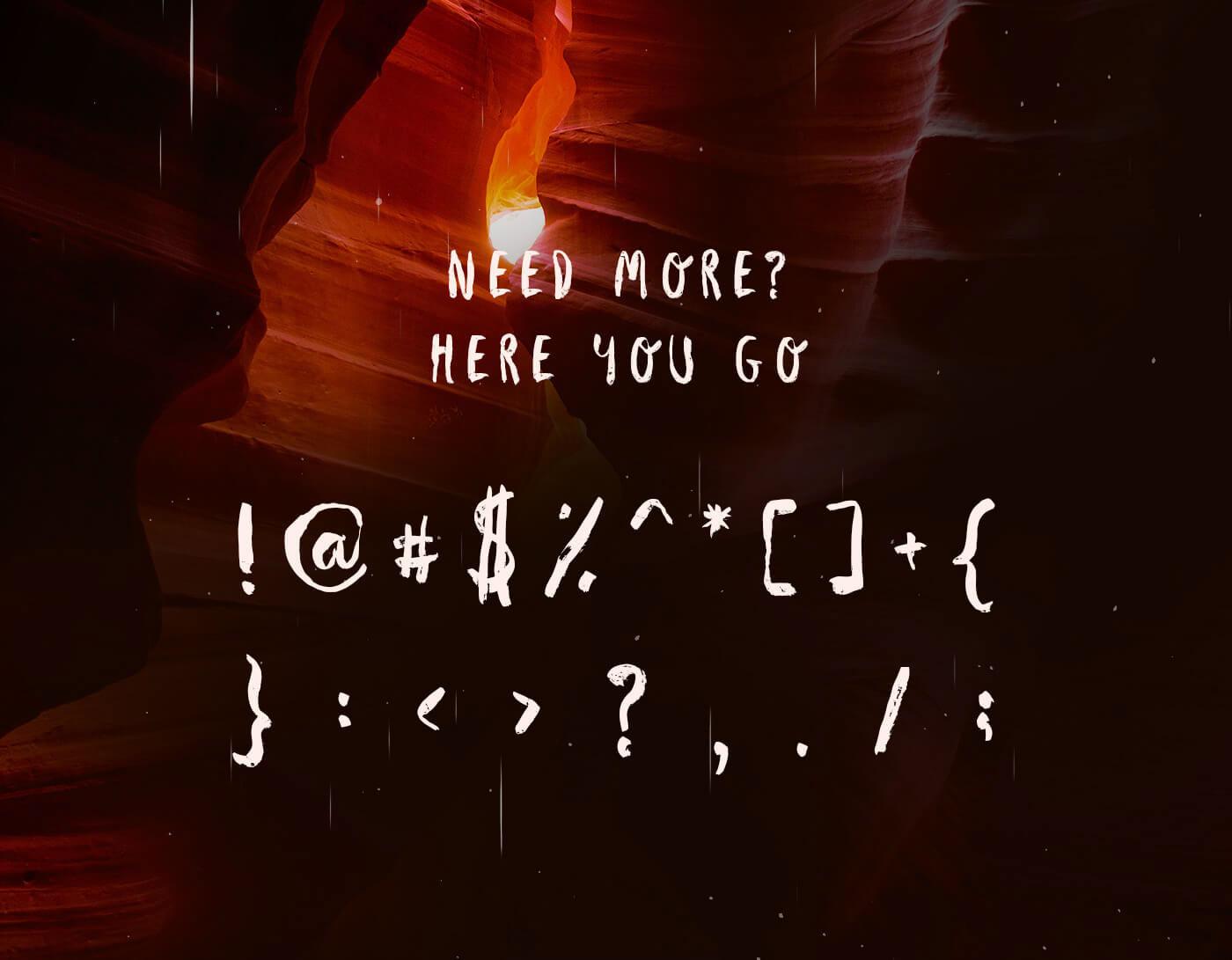 AVENE Free Font - script