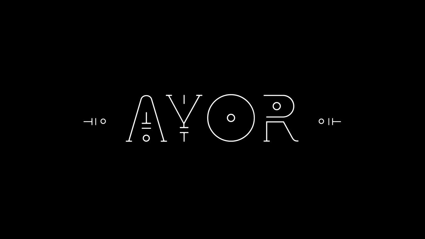 AYOR Free Font - decorative-display