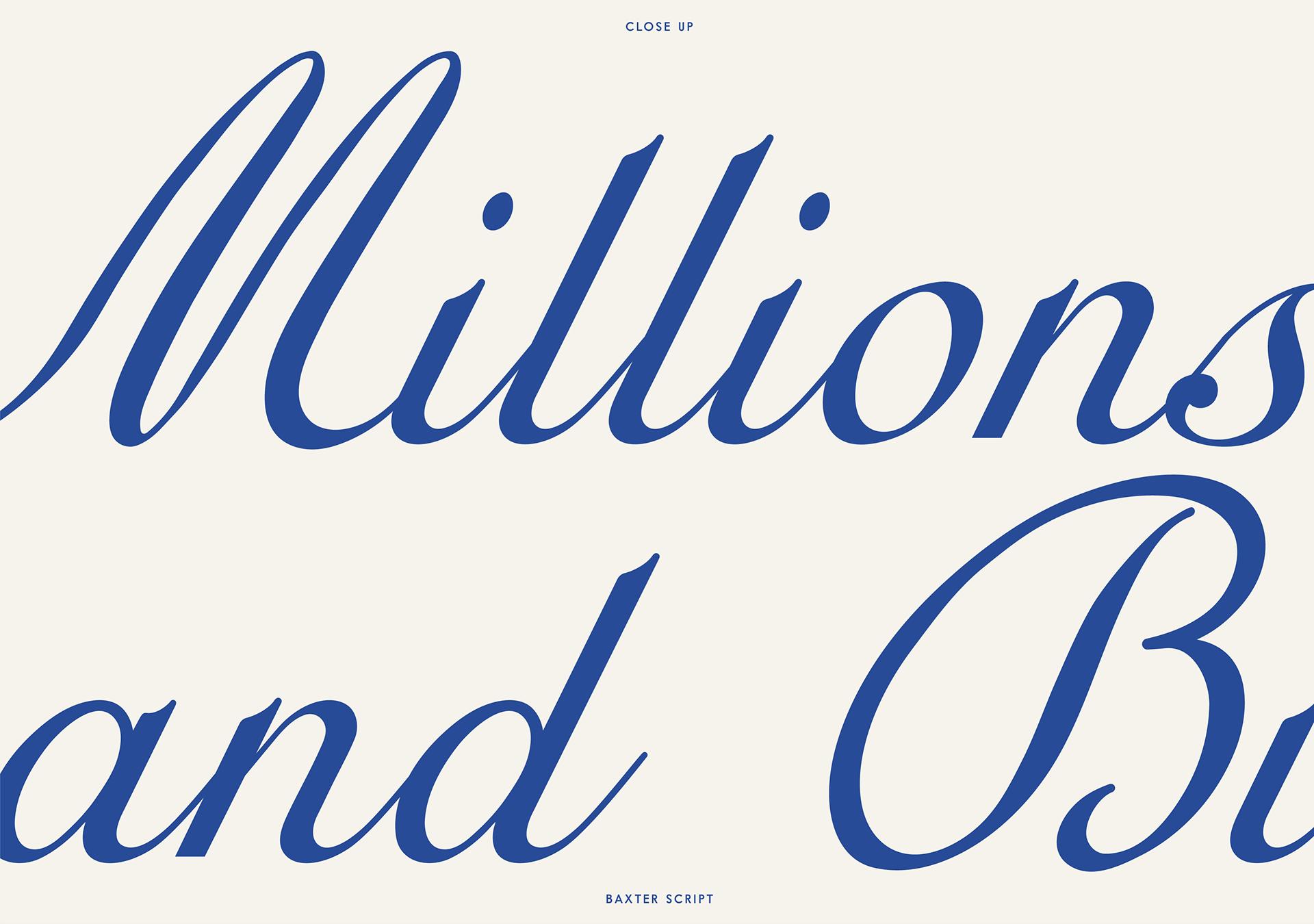 Baxter Free Font - script