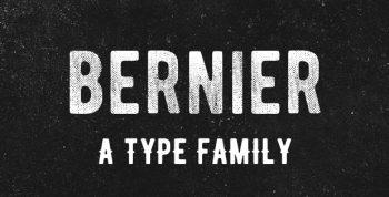 BERNIER™ Free Font Family - sans-serif