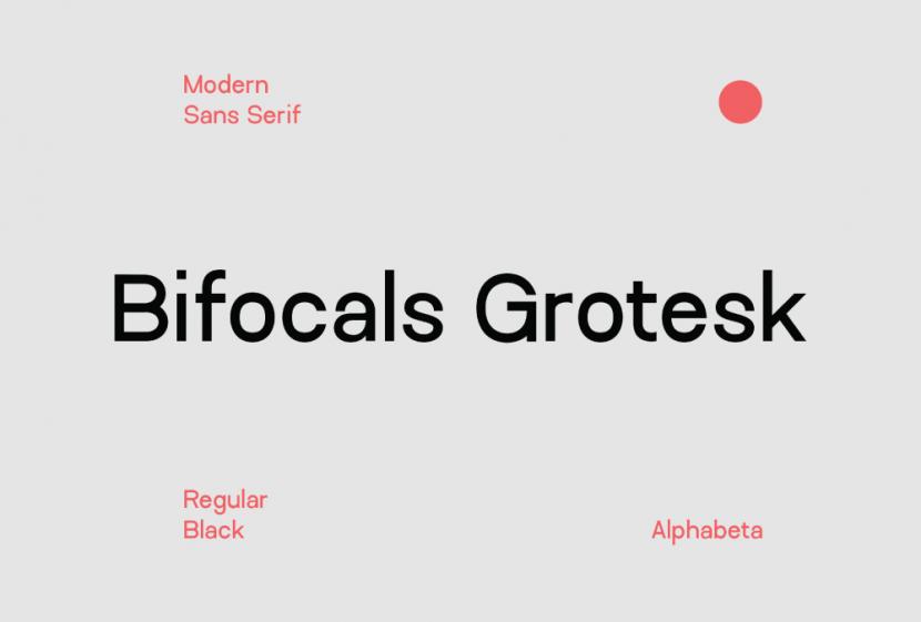 Bifocals Grotesk Free Font Family