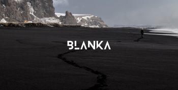 BLANKA Free font - decorative