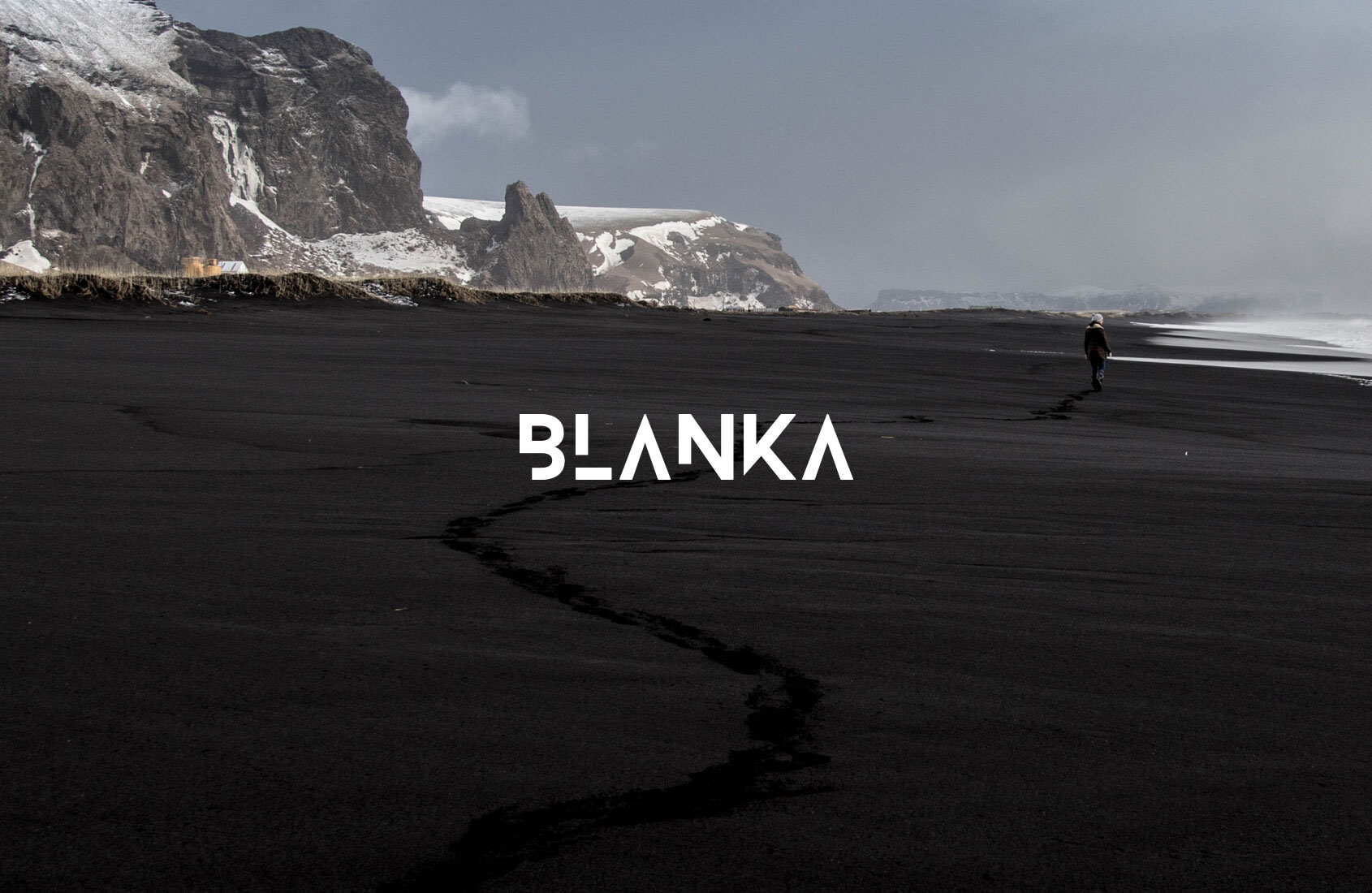 BLANKA Free font - decorative-display