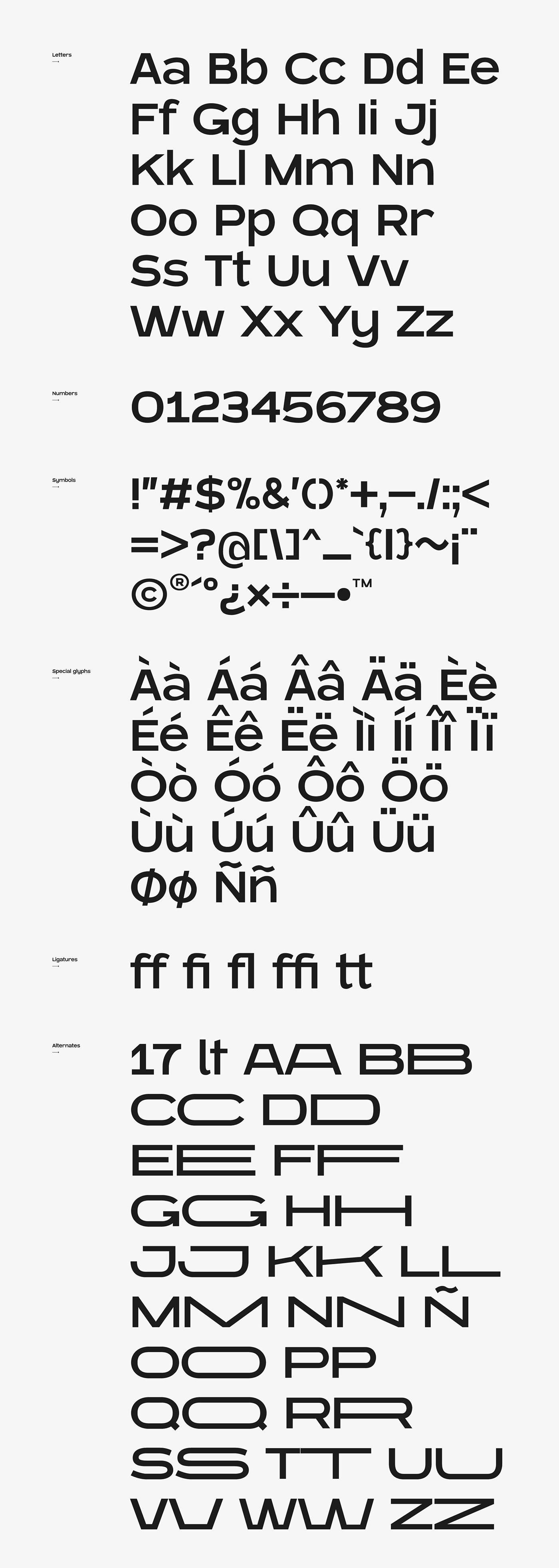 Blatant Free Font - sans-serif