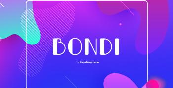 Bondi Free Font - sans-serif