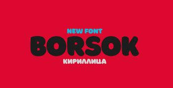 Borsok Free Font - sans-serif