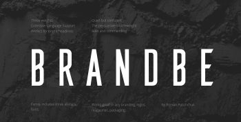 Brandbe Free Font - sans-serif
