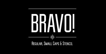 Bravo! Free Font