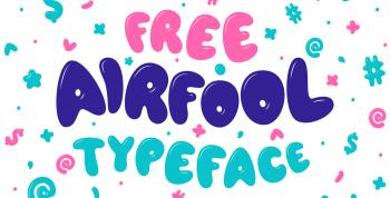 AIRFOOL Free Typeface
