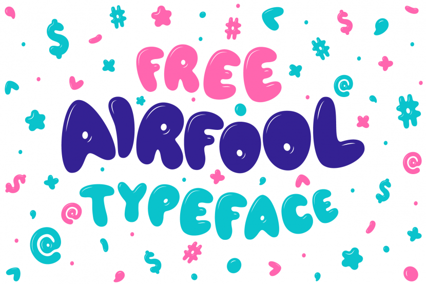 AIRFOOL Free Typeface