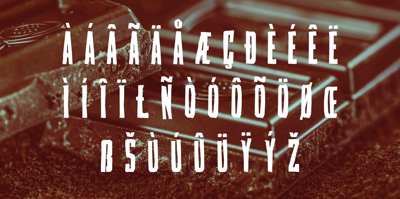 Candybox Free Font - decorative-display