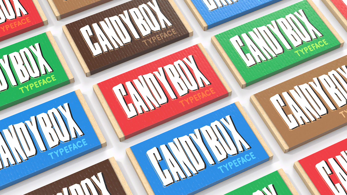 Candybox Free Font - decorative-display