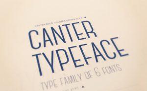 Canter Free Font - sans-serif
