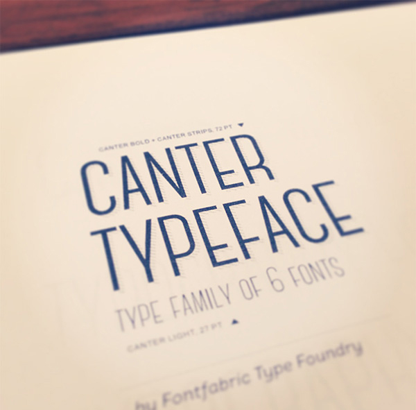 Canter Free Font -