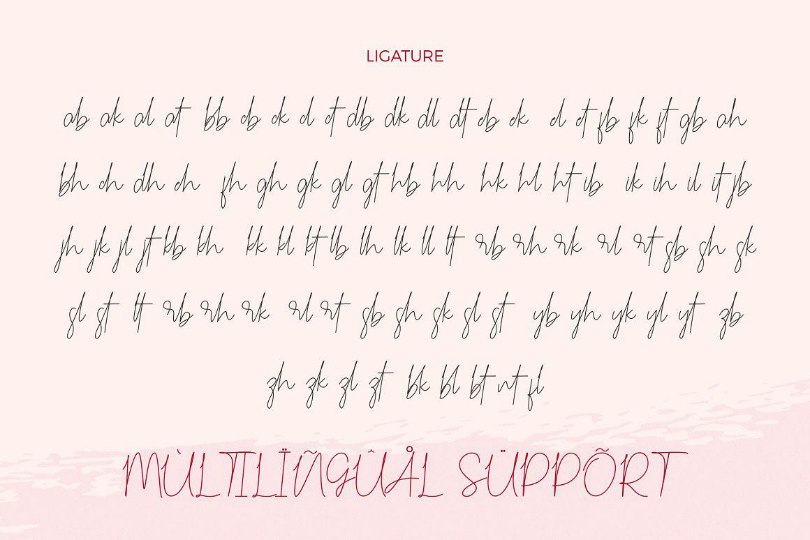 Carmelia Free Font - script
