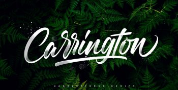 Carrington Free Font - sans-serif
