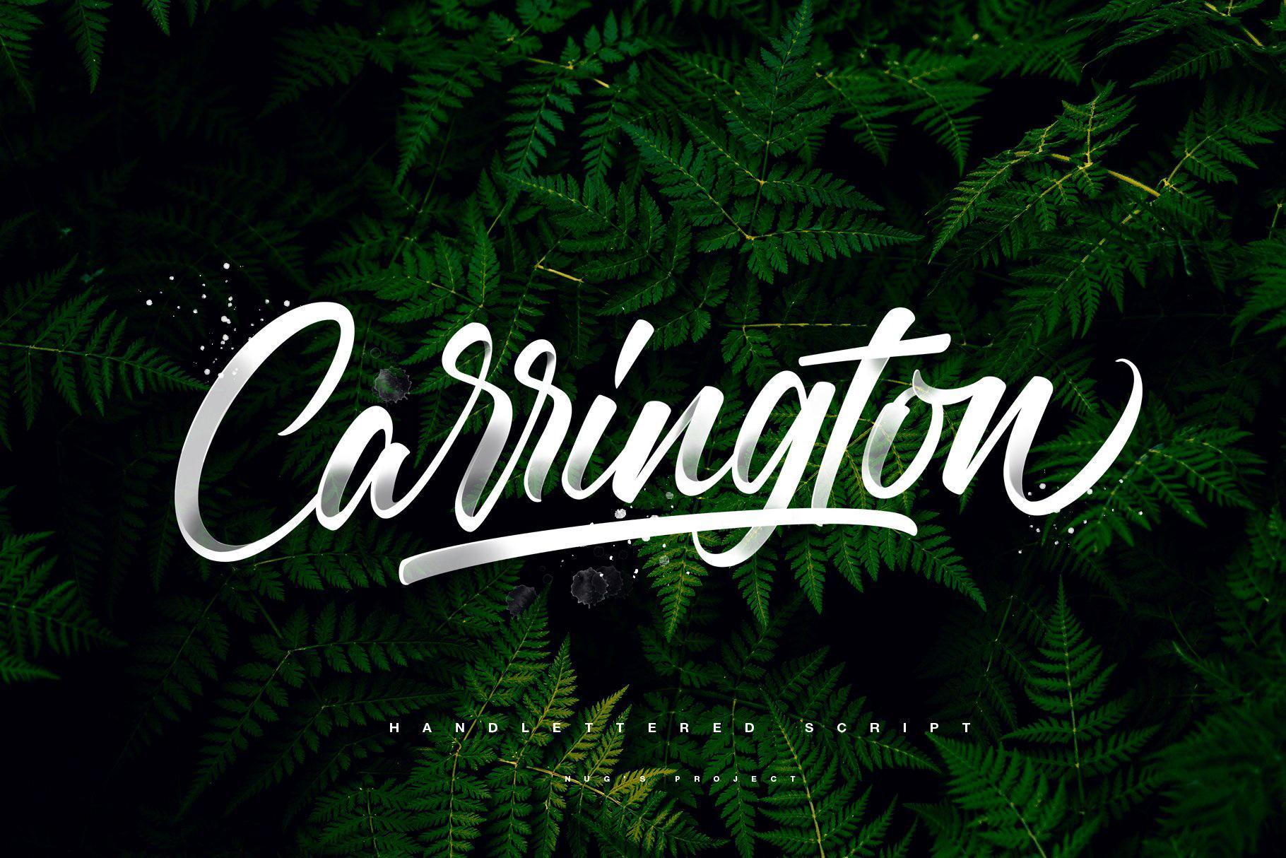 Carrington Free Font - sans-serif