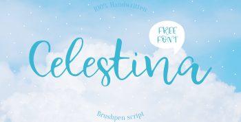 Celestina Free Font -
