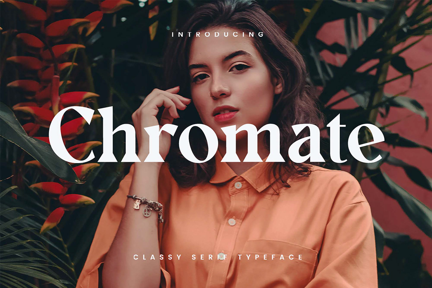 Chromate Free Font - serif