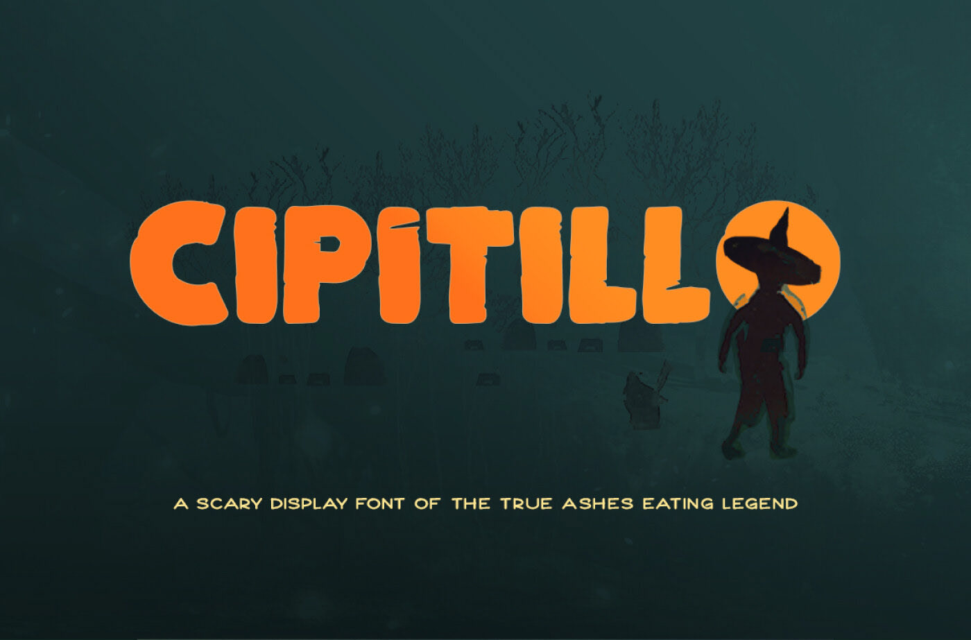 CIPITILLO Free Font - decorative-display