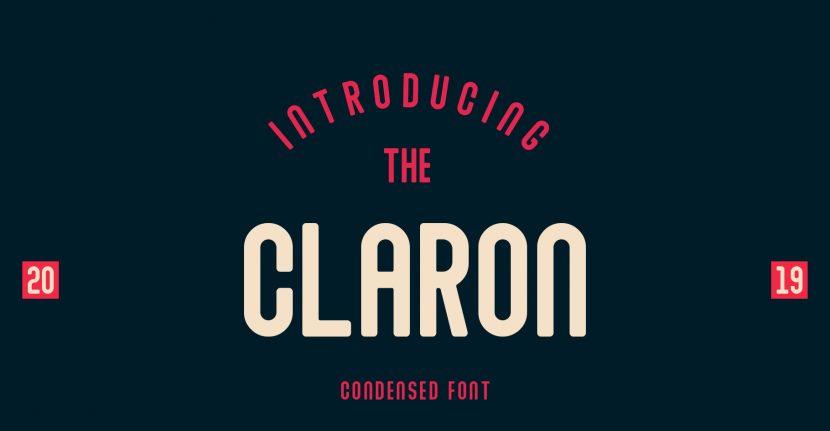 Claron Free Font - sans-serif