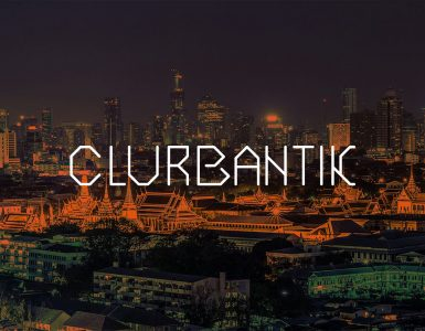 Clurbantik Free Font - decorative-display, cyrillic