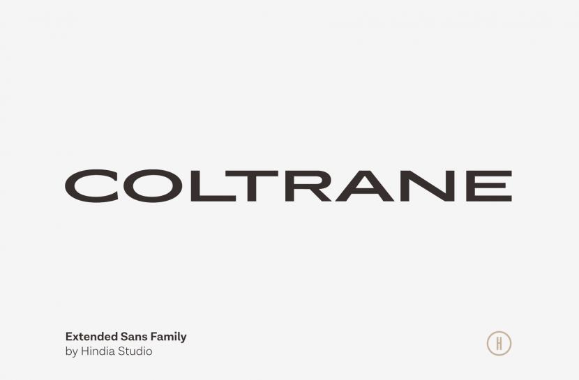 Coltrane Free Font - sans-serif
