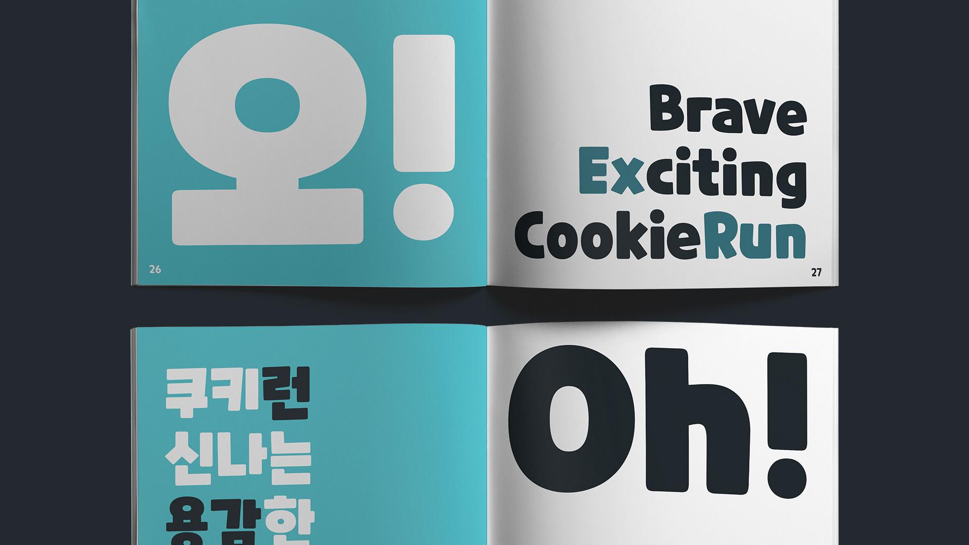 CookieRun Free Font - slab-serif
