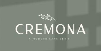 Cremona Free Font - sans-serif