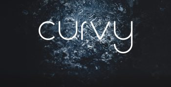 Curvy Free Font - sans-serif