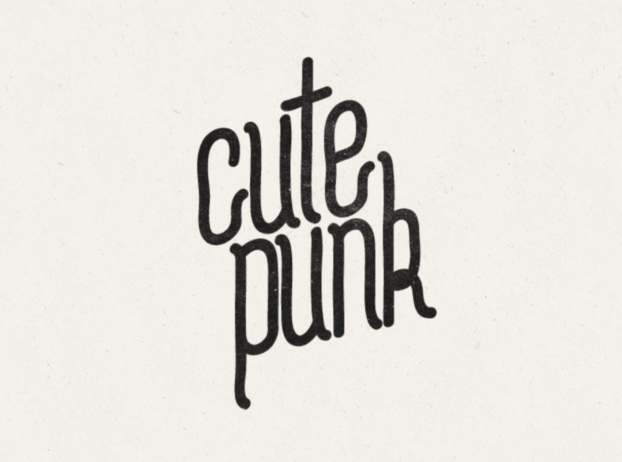 cutepunk Free Font - decorative-display