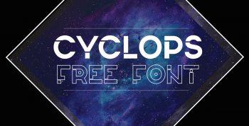 Cyclops Free Font - decorative
