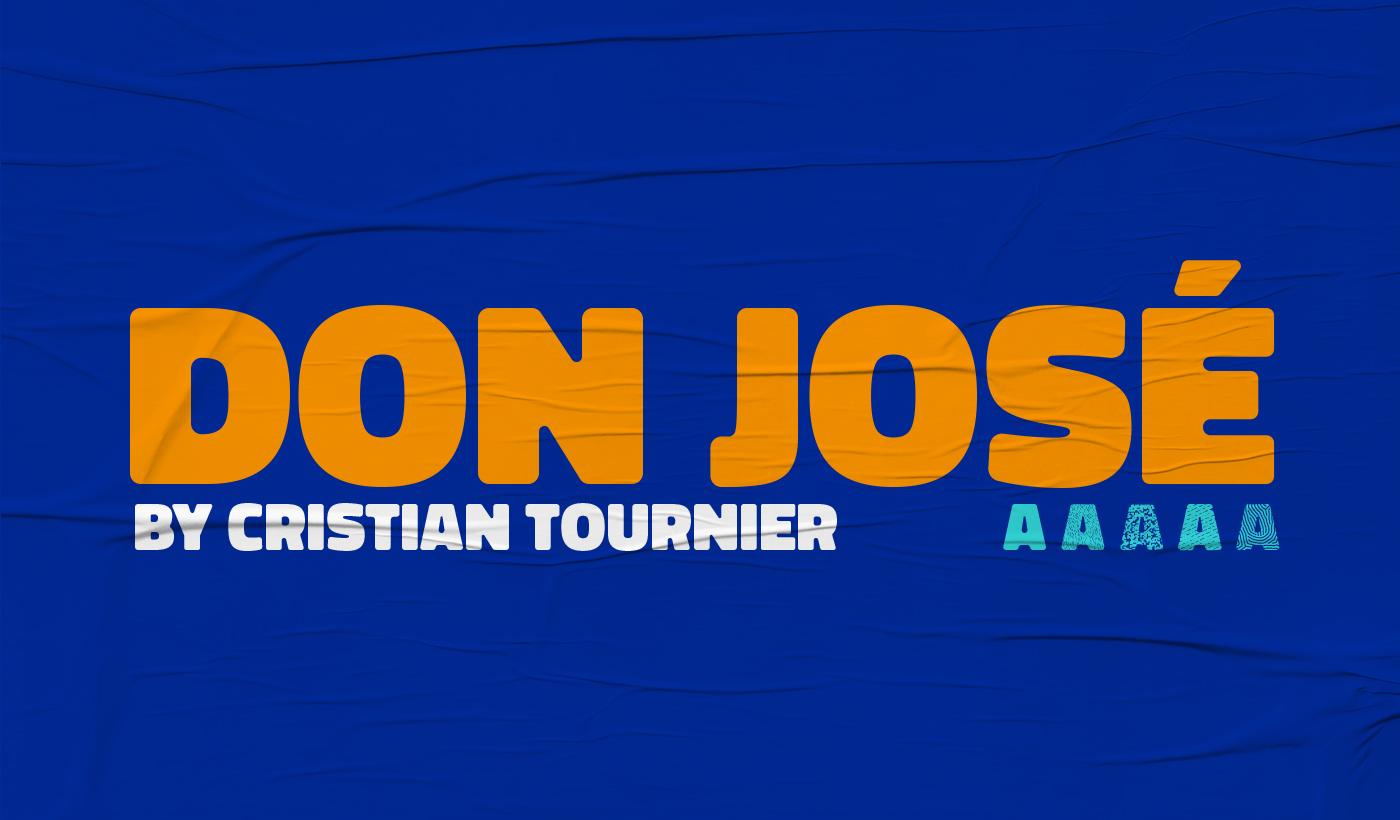 Don José Free Font Family - sans-serif